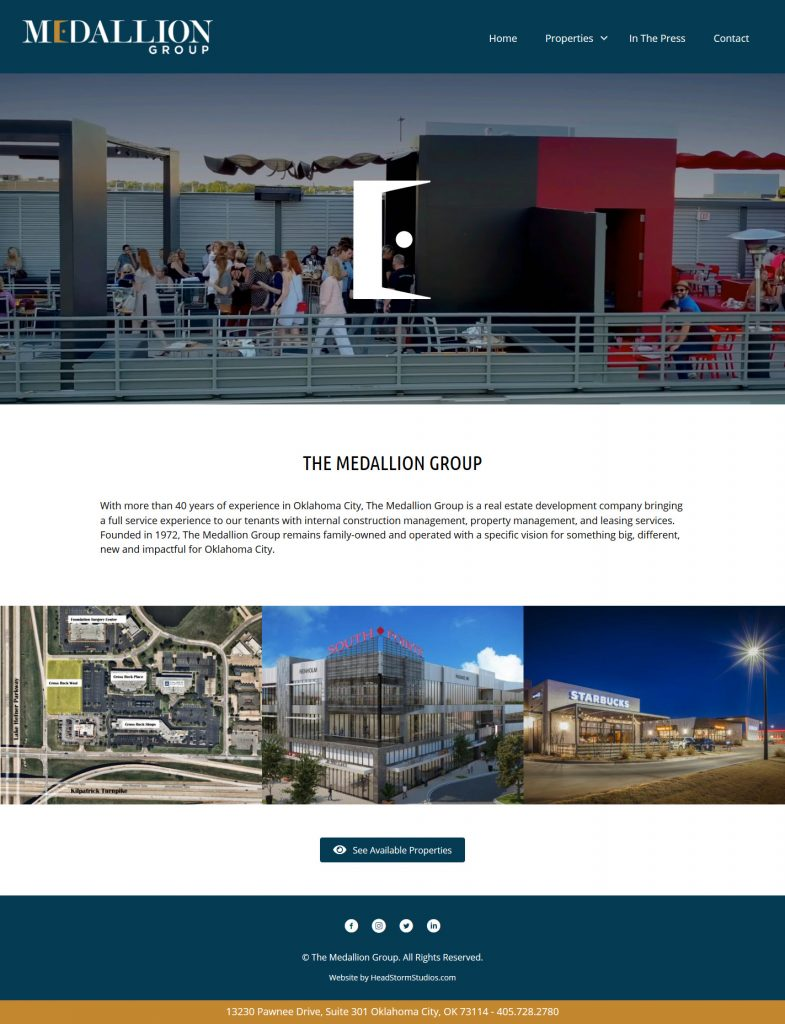 OKC website design and development