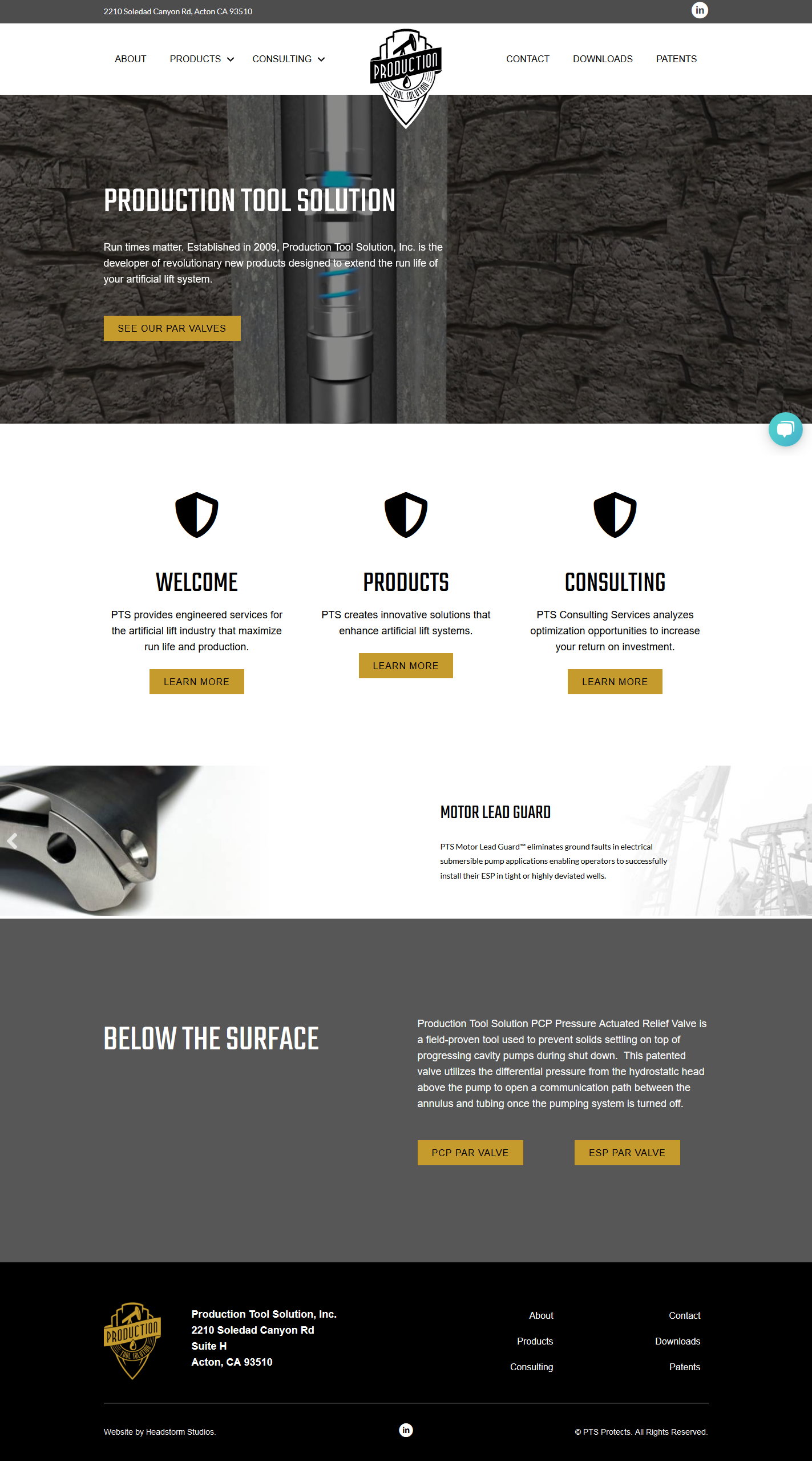 website-design-ptsprotect-headstormstudios